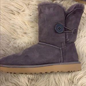 Dark purple UGG boots size 8
